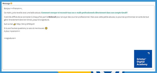 Email-marketing-exemple-de-mail-personnalisé – SG Autorepondeur