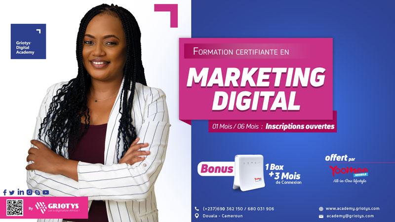 Formation-certification-marketing-digital-cameroun-douala-yaounde-griotys-digital-academy-2