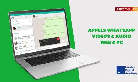 Innovation: Appels vidéo WhatsApp Web/PC déjà possible