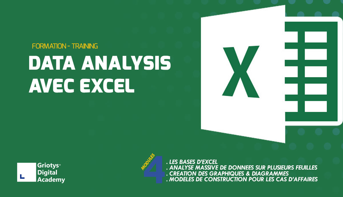 Formation-data-analysis-avec-excel-griotys-digital-academy