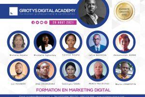 Les experts du Marketing Digital Benin 2021